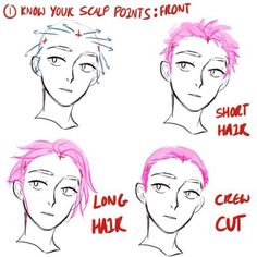 Scalp Points - Front