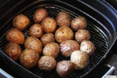 Air Fryer Baby Potatoes. Truly crispy, addictive, perfectly seasoned, Mediterranean baby potatoes cooked in the air fryer. Quick prep and a perfect Mediterranean side on the family dinner table. Also, before we dive into this air fryer baby potatoes recipe, I recommend you check out our free air fryer mini course. It is ideal for air fryer beginners or those that want to get more confident with their air fryer. The free course runs for 5 days with a new lesson delivered each day to your…