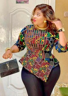 20 Latest fabulously Beautiful African print design Tops for 2021 s – Style with Ufuoma Omoluru African Fashion Ankara, Latest African Fashion Dresses, African Print Fashion, Africa Fashion, Fashion Prints, Fashion Styles, Women's Fashion, Short African Dresses, African Blouses