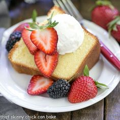 A couple tricks like using cream, cake flour and alternating the wet and dry ingredients make this the Best Pound Cake you'll ever taste!