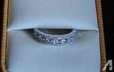 REDUCED Diamond wedding band OR engagement ring OR just because! NICE! - $1000 (Manitowoc (can deliver to MKE))