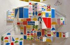 Oh! Mon chapeau * Anouck Boisrobert et Louis Rigaud - Alison Wolf Pop Up Art, Cut Paper Illustration, Graphic Design Illustration, Painting For Kids, Art For Kids, Paper Pop, Paper Engineering, Handmade Books, Book Making