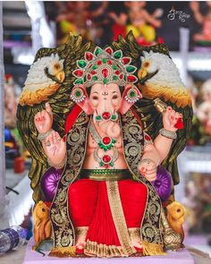 Image may contain: one or more people Shri Ganesh Images, Ganesha Pictures, Ganpati Picture, Ganpati Festival, Ganesh Lord, Ganpati Bappa, Photo Backgrounds, New Pictures, Indian Beauty