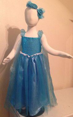 Elsa Frozen Princess Snowqueen Tutu Party Costume by TitasBoutique, $70.00