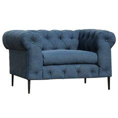 Canal Club Chair Blue