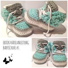 Ebook/ Häkelanleitung für Babyschuhe #1 von JolandaRegenbogen auf DaWanda.com