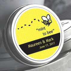 """12 Mint To Bee Color Coordinated Mint Tins  - Select the quantity you need below in the """"Pricing & Quantity"""" option tab"""