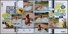 Mud Bath *CREATE* by Lynette Jacobs @2peasinabucket  7 photos beach