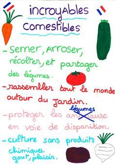 On plante, on arrose et on partage gratuitement . La route des légumes, avec les Incroyables Comestibles.