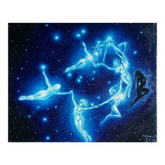 The Pleiads Poster - Custom Posters - Design Your Own Wall Art The Pleiades, Native American Wisdom, Star Constellations, Custom Posters, Ink Art, Dark Fantasy, Design Your Own, Art Inspo, Custom Framing