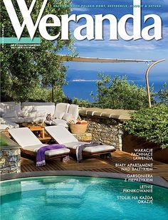 Okładka magazynu Weranda 8/2012 www.weranda.pl