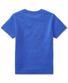 Ralph Lauren Jersey Cotton T-Shirt, Toddler & Little Boys (2T-7) - Mountain Gold 3/3T