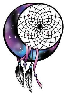 Moon Catcher-Just 4 Girls Temporary Tattoo