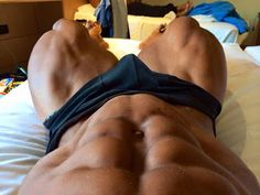Welcome to Muscleville | All about abs: When his core is engaged, it's like...