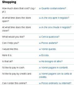 Basic Italian | Learning Italian | Pinterest | Italian