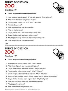 Zoo, English, Learning English, Vocabulary, ESL, English Phrases, http://www.allthingstopics.com/zoo.html