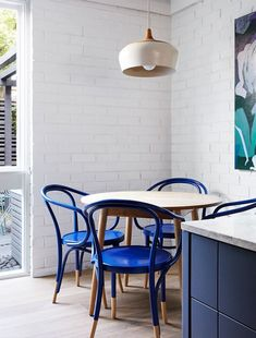 An architect's personal project is catapulted into the modern day with chic updates and bold colours.