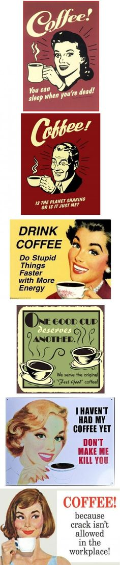 Coffee for everyone!
