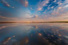 Cloud Reflections On Boat Meadow in Eastham, Massachusetts, Cape Cod. Dapixara photography http://www.dapixara.com