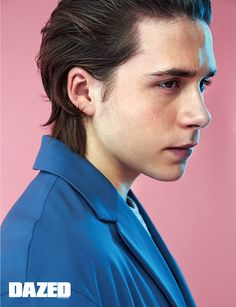 Brooklyn Beckham for Dazed Korea Magazine September Issue 2016 Most Beautiful People, Beautiful Person, Beautiful Men, Brooklyn Becham, Human Photography, Men Photoshoot, Poses, Studio Shoot, David Beckham