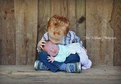 Newborn Sessions/I love my new sister/Sweet Kisses - Tera Williams Photography - Appling, GA www.facebook.com/terawilliamsphotography