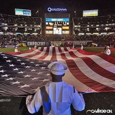 Qualcomm Stadium. Home of San Diego Chargers.