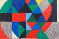Sonia Delaunay, 'Polyphony,' 1971, Gilden's Art Gallery