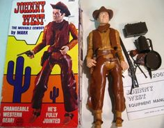 Johnny West — my brother had this doll.  I coveted his horse!