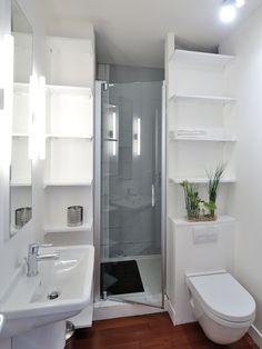 beautiful modern bathroom with small design