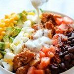 Permalink to: BBQ Chicken Cobb Salad