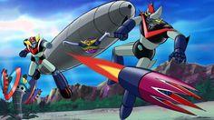 UFO Robo Grendizer tai Great Mazinger by Kazuhiro Ochi