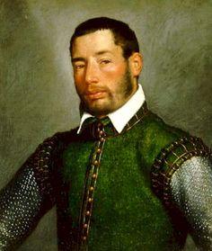 Giovanni Battista Moroni, 1565: Portrait of a Gentleman. Venetian Province of Bergamo, The Republic of Venice.