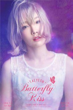 少女時代 テヨン、初の単独コンサート「TAEYEON, Butterfly Kiss」開催…7月ソウル&8月釜山 - PICK UP - 韓流・韓国芸能ニュースはKstyle