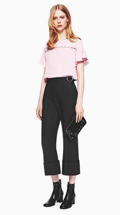 MAX&Co. AW 16 - Blouse PACIFICO / Pants PALAZZO / Clutch ADA / Ankle boots ABIGAIL
