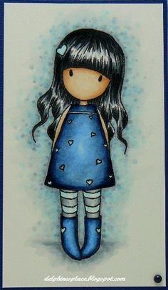 Boceto de Suzanne Woolcott. #Gorjuss https://www.tiendagorjuss.com/
