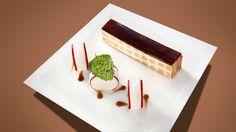 Marbré de féra et foie gras, maki de radis rose