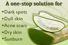 Benefits of aloe gel for face