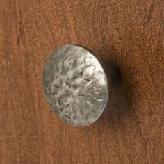 Textured Cast Iron Round Knob