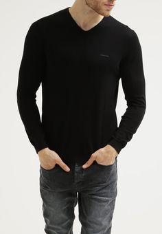 Calvin Klein - SABIN  - Strickpullover - perfect black - 100 € (Zalando)