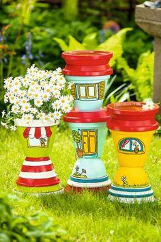 Abreuvoirs à oiseaux en pots en terre cuite - vbs-hobby.com