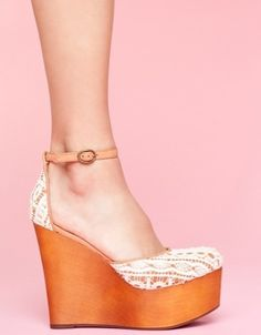 Bette Platform Wedge... I will own this shoe!!!