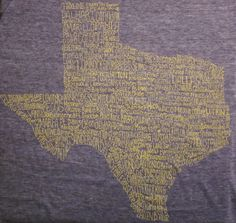 Texas City T-shirt  -   The fact that Denton, Frisco, and Boerne is on this makes it awesome! They didn't miss anything.