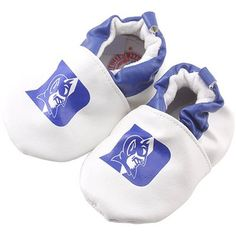 Duke Blue Devils Infant Booties - White