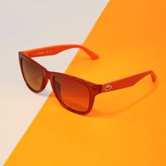 We always keep an eye on you! Discover the colorful Picque Sunglasses from the #Lacoste #eyewear collection.