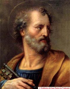 """St. Peter - the one who holds """"the keys"""""""