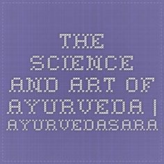 The Science and Art of Ayurveda Ayurveda, Periodic Table, Science, Watch, Art, Art Background, Periodic Table Chart, Clock, Periotic Table