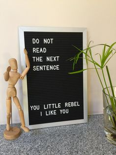 Makeover your letterboard