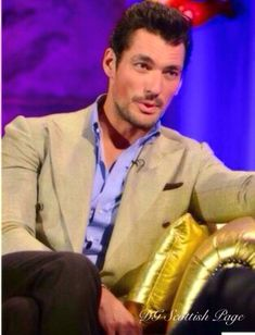 David Gandy on Alan Carr Chatty Man Show Friday with guests RuPaul , Adam Levine , Maroon 5 ,2015
