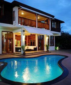 Negril 10 br Ocean Front Vacation Rental Villa: Ocean Gem 6 bedroom Villa and Lagoon cottages