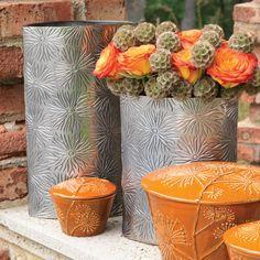 Dandelion Oval Vase
